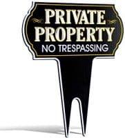 Driveway / Property Signs